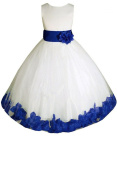 AMJ Dresses Inc Baby Girls' Wedding Flower Girls Birthday Party Dress