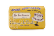 Mistral Les Sentiments Gateau a la Vanille Vanilla Cake French Bar Soap 210ml