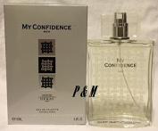 MY CONFIDENCE BY PARFUMS DERAY PARIS COLOGNE FOR MEN 3.4 OZ / 100 ML EAU DE TOILETTE SPRAY