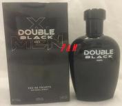 X. MEN DOUBLE BLACK BY GEPARLYS COLOGNE FOR MEN 3.4 OZ / 100 ML EAU DE TOILETTE SPRAY