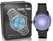 PRIME TIME BLUE BY TIVERTON COLOGNE FOR MEN 3.4 OZ / 100 ML EAU DE PARFUM SPRAY