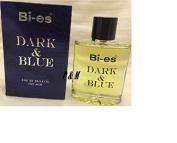 DARK & BLUE BY BI-ES COLOGNE FOR MEN 3.3 OZ / 100 ML EAU DE TOILETTE SPRAY