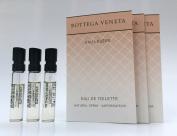 3 Bottega Veneta Eau Legere 1.2 ml Each for Women Eau De Toilette Spray Vial Lot