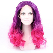 Kuafu Sexy Women's Synthetic Lace Front Wig Party Cosplay Wigs