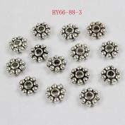 HYBEADS.200PCS 6mm Tibetan antique daisy spacer beads