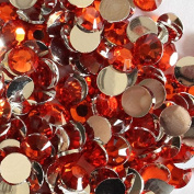 2000 Pcs 3mm 14 Facets Resin Round Rhinestone Flat Back Bling Shine Red1 Colour 04