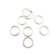 Price per 260 Pieces Jewellery Making Charms 09827 Round Jump Rings Retro Ancient Silver Findings Repair Lots Art