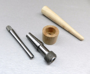 RATHBURN RING STRETCHER SIZER & RING MANDREL WOOD TAPERED jewellery MAKING TOOLS