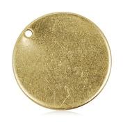 20mm Diameter Round Circle Stamping Blank Tags for Metal Punching,50pcs/lot