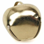 TWB5504 Jingle Bell 1-3/8 inch or 35MM Goldtone / Package of 72