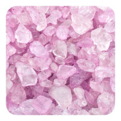 Sandtastik Preschool Kids Children Craft Coloured ICE Real Glass Gems, Scatters 20 lb (9.09 kg) Box; 4 - 10 mm - Plum
