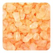Sandtastik Preschool Kids Children Craft Coloured ICE Real Glass Gems, Scatters 10 lb (4.5 kg) Box; 4 - 10 mm - Orange