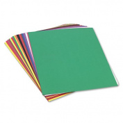SunWorks Construction Paper, 26kg., 18 x 24, Assorted, Pack of 100 - PAC6517