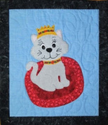 Pattern - Purr-fectly Adorable - Cat Wallhanging - 46cm x 40cm