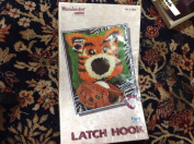 Wonder Art Latch Hook Kit Tiger