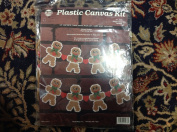 NMI Plastic Canvas Kit Gingerbread Boy Garland Art. 1973