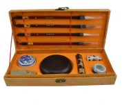High Grade Chinese Characters Calligraphy Brush / Kanji / Sumi Set for Beginners