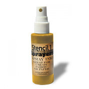 Stencil1 Sprayers Metallic Colours 60ml-Gold