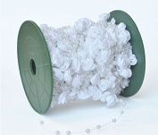 Joinwin® 30M 1 roll 12MM 4MM 1lot pearl Beads string Garland Wedding Centrepiece party decoration crafting DIY accessory