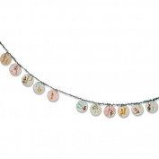 Bethany Lowe Happy Spring Easter Vintage Style Disc Garland