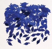 Club Pack of 12 Blue Mortar Board Cap Hat Shaped Graduation Day Party Confetti Bags 15ml