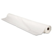 Bio-Degradable Plastic Table Cover, 100cm x 90m, White, Sold as 1 Carton