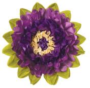 Tissue Paper Flower - Petunia & Purple 38cm