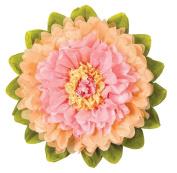 Tissue Paper Flower - Pink & Cantelope 38cm
