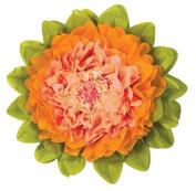 Tissue Paper Flower - Cantaloupe & Mango 38cm