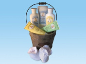 Susan Brown's Baby 6 Piece Complete Sensitive Baby Gift Basket