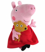 Baby's Favourite Toy Pepe Pig Red Sit 15 CM Tall