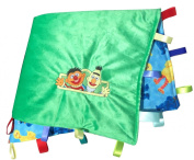 Sesame Street ~ Cuddle Blanket with Ribbon Tabs