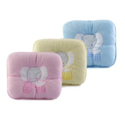 Baby Cotton Pillow Baby Head Support Cushion Prevent Flat Head Pad.