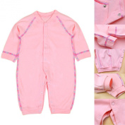 LSQtronics 2015 Hot Style newborn Siamese long sleeve climbing clothes --Boneless sewing-Pink