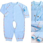 LSQtronics 2015 Hot Style newborn Siamese long sleeve climbing clothes --Boneless sewing-Blue
