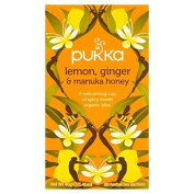 Pukka Herbs Lemon Ginger & Manuka honey 20 x 2g by Pukka Teas