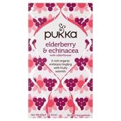 Pukka Herbs Elderberry & Echinacea with Elderflower 20 per pack by Pukka Teas