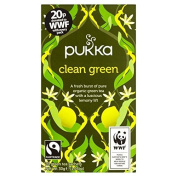 Pukka Herbs Clean Green Tea 20 per pack by Pukka Teas