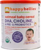 Happy Baby HappyBelliesTM Organic Baby Cereal Oatmeal -- 210ml