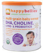 Happy Baby HappyBelliesTM Organic Baby Cereal Multigrain -- 210ml