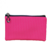 Emmas Style women's candy-coloured zipper coin purse