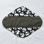 30cm Heavy Flow Charcoal Bamboo Mama Cloth/ Menstrual Pads/ Reusable Sanitary Pads