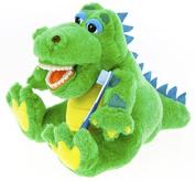 Kids Alligator Educational Plush & Toothbrushes (5 Pack)
