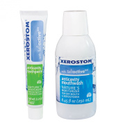 Xerostom Anticavity Mouthwash and Toothpaste Pack