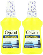 Cepacol Antibacterial Multi-Protection Mouthwash, Gold, 710ml
