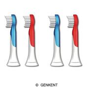 Genkent Replacement Brush Heads for Philips Sonicare Hx6034 Sonicare for Kids Brush Heads, Ages 4-7, 8 PCS