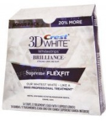 3D Crest White Brilliance Whitestripes Supreme Flexfit 34 strips