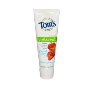 Tom's of Maine Children's Natural Toothpaste Fluoride-Free Silly Strawberry - 120ml - Case of 6