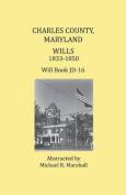 Charles County, Maryland, Wills 1833-1850