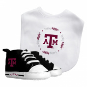 Texas A & M Aggies Prewalker and Bib Set